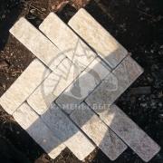 Гранитная плита с окатанным краем 100*300*20-30мм